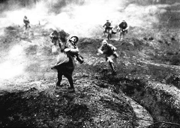 The trenches are horrific